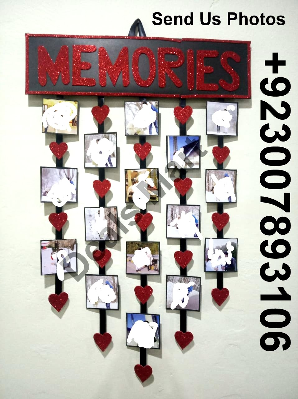 Customized Picture Photo Frame For Wall Decor Wall Hanging Display