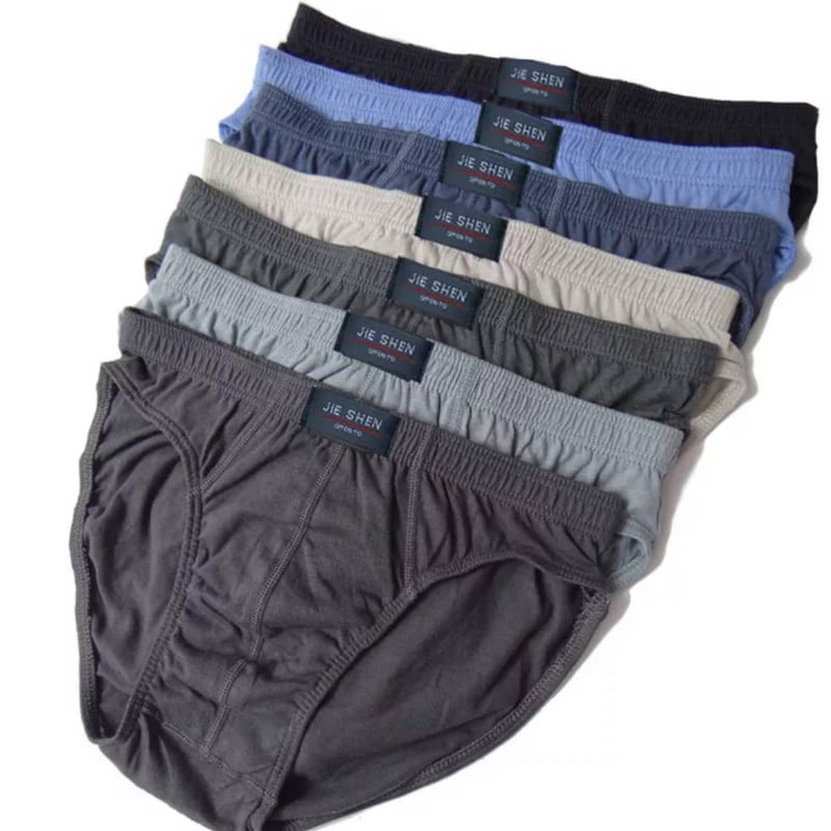 High Quality 100% Cotton Men's Double Layer Classic Brief/ Underwear For Men