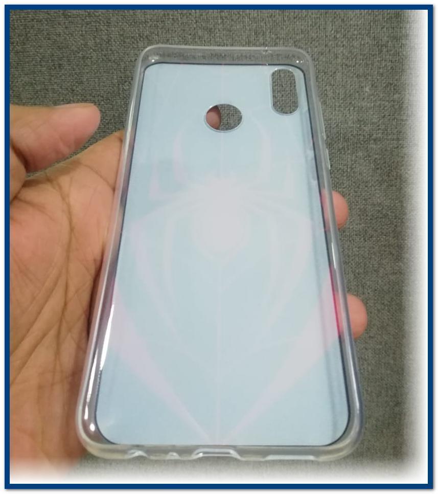Huawei Honor 8X - GUN Print Soft Silicone TPU Flexible Back Cover
