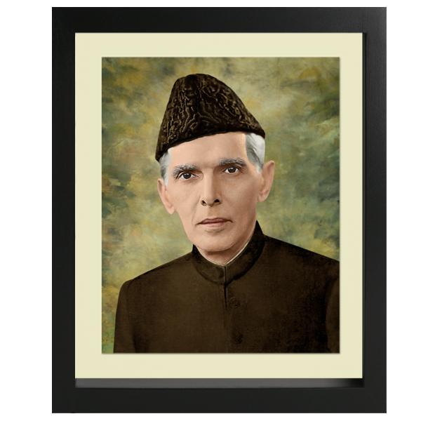 Dareechay Nofd-071 - Father Of Nation Jinnah Portrait