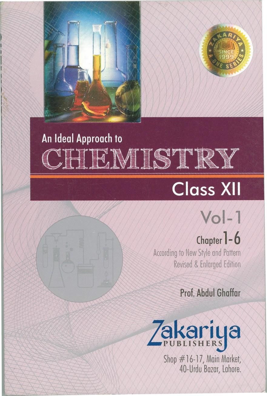 Chemistry Notes Class 2nd Year (Vol-I) Chapter 1-6