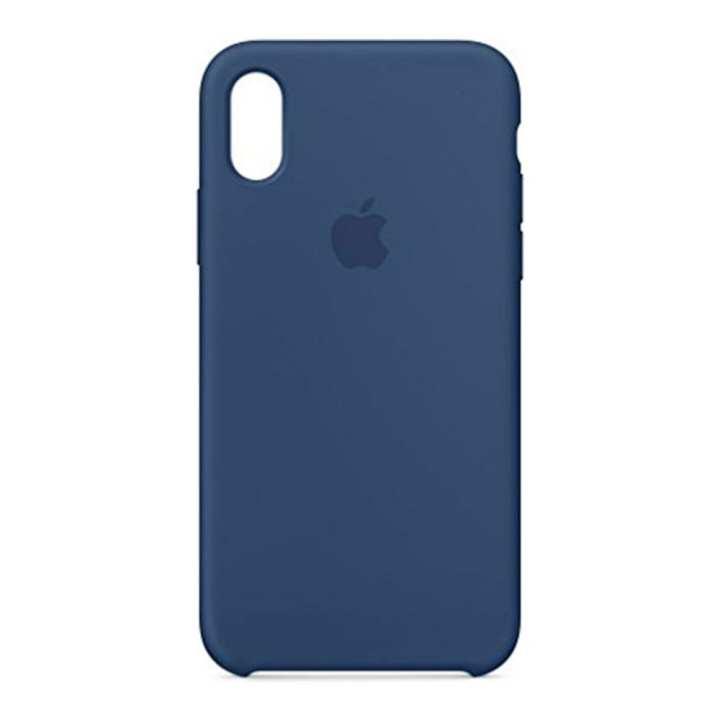 iPhone XS Silicone Case - Blue Horizon Blue Horizon
