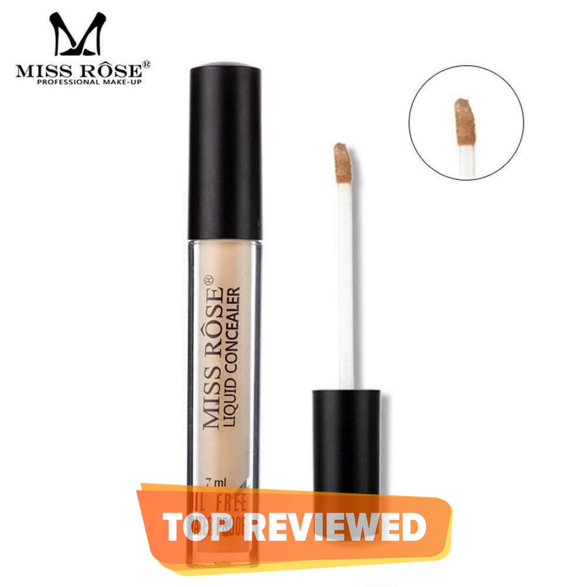 MISS ROSE 6 Colors Face Full Coverage Concealer Contour Liquid Concealer Makeup Eye Dark Circles Cream Face Corrector Base Cosmetic