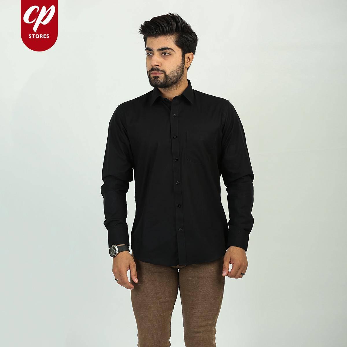 Cut Price Formal Dress Shirt CT Premium Black