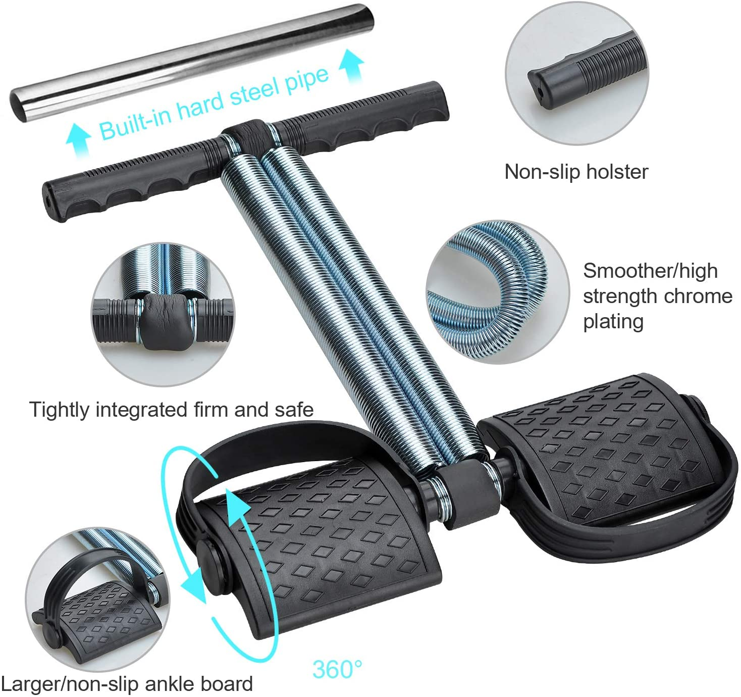 Most Effective Tummy Trimmer Double Spring of High-Quality Guaranteed Machine For Belly Fat Burner Best Belly Fat Exercise For Men And Women Good For Body Fitness | Weight Loss | Home Gym | Home Workout.