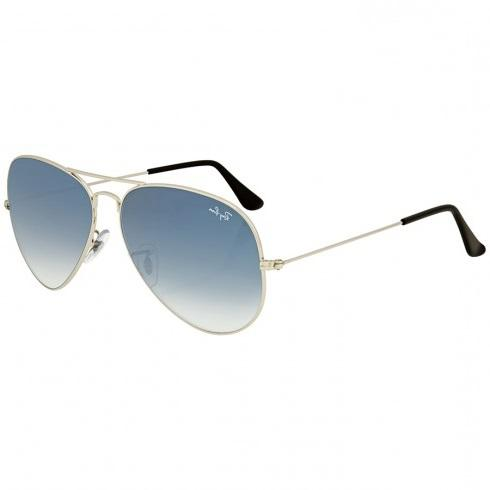 a50bbc0ee Ray Ban Aviator Light Blue Gradient Mens Sunglasses RB 3025 003/3F 58.14 2N