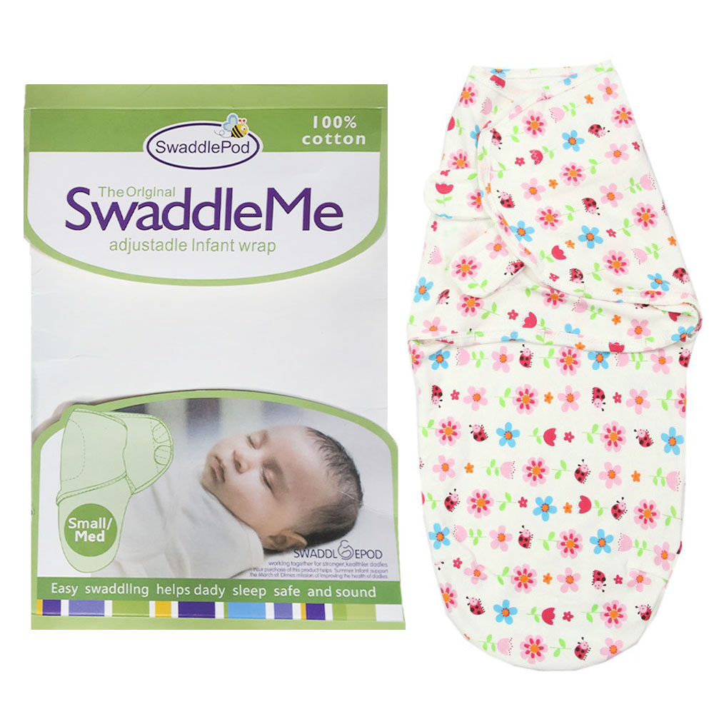 Summer SwaddleMe Ultra Comfort Adjustable Swaddle Infant Baby Wrap