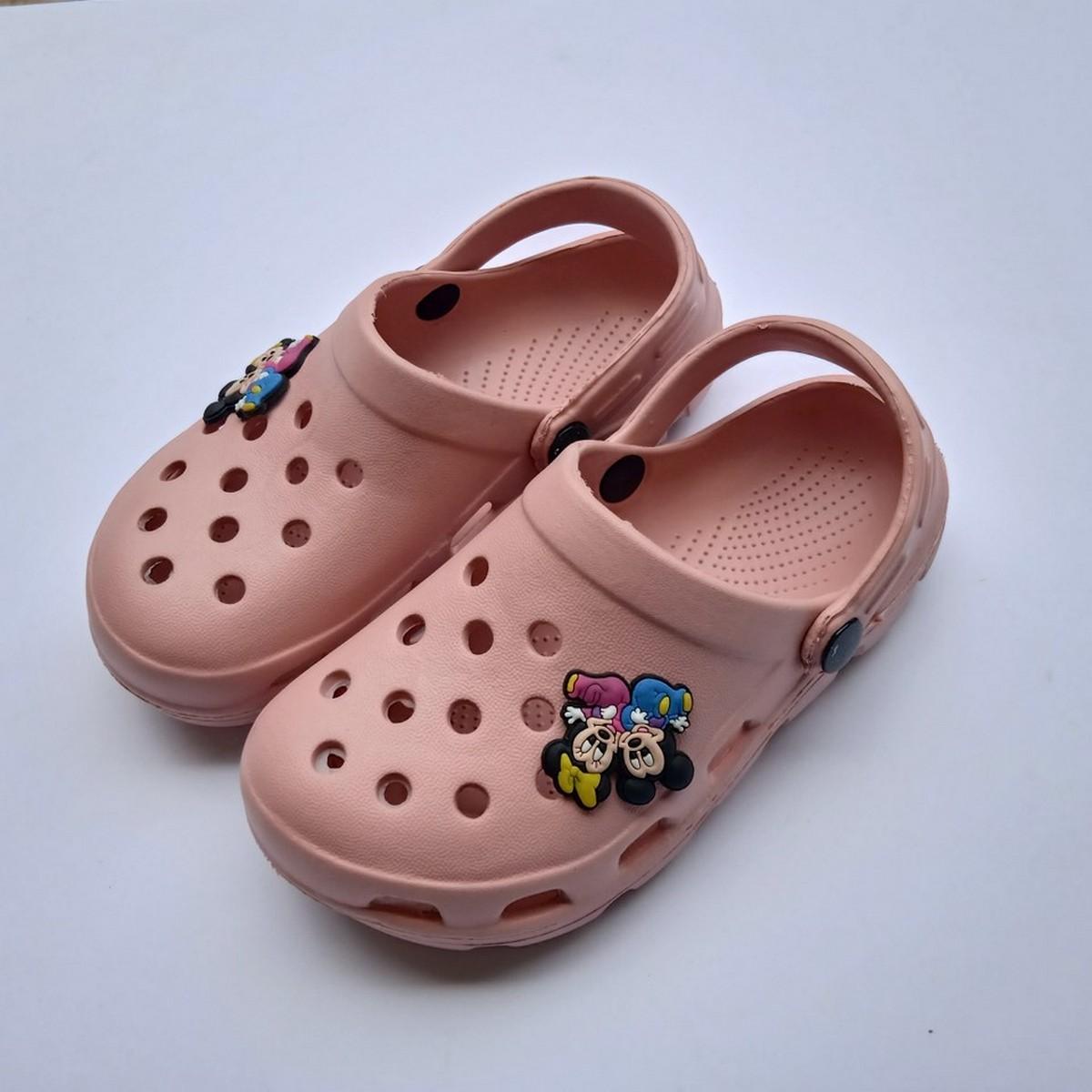 Closed toe Unisex Crocks Shoes for Kids Crocs Boys & Girls