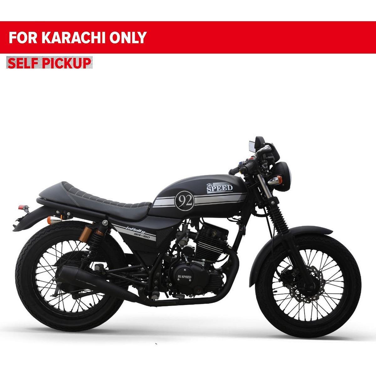 Hi Speed Infinity 150cc - Matt Black (Karachi Only)