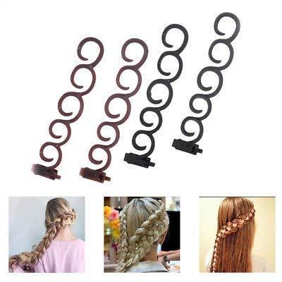 4pcs Hair Styling Tools Weave Braid Hair Braider Tool Hair Styling Tool