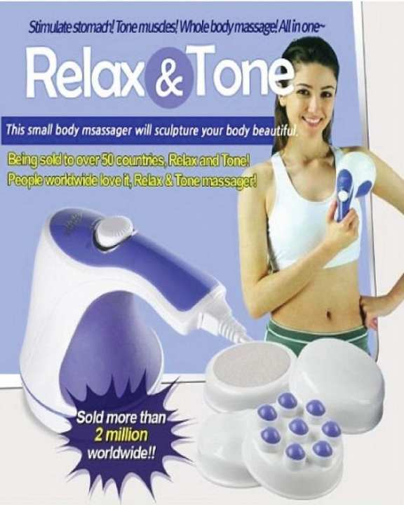 Relax & Spin Tone Hand-Held Full Body Massager