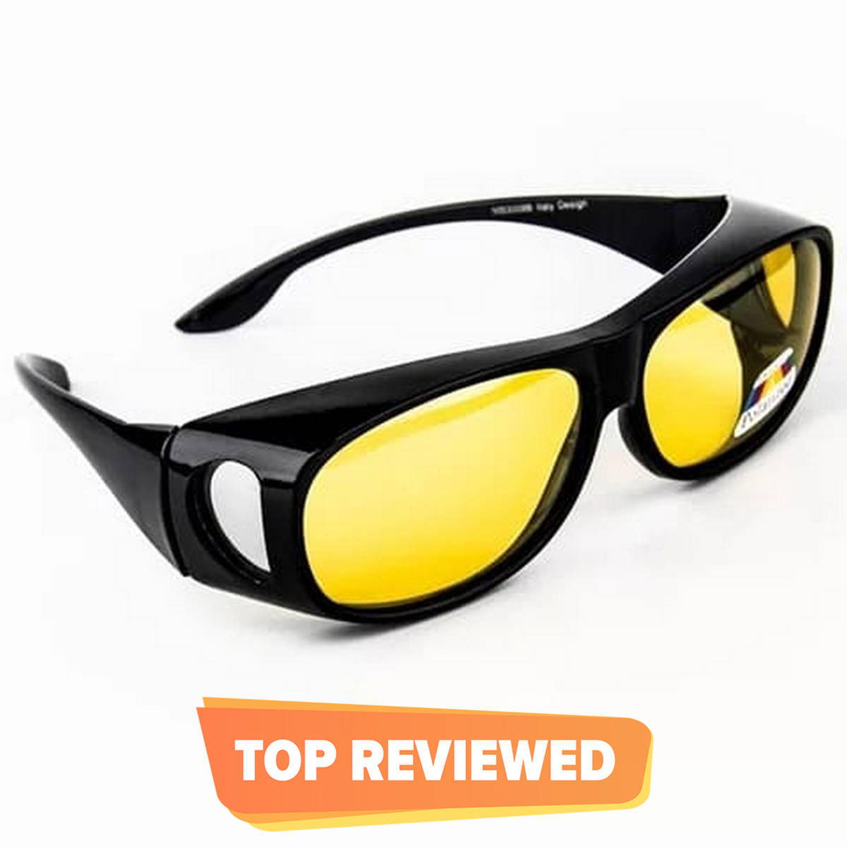 HD day night vision polarizing glasses for bike and car drivers – Anti glare polarized night driving uv protection driving glasses