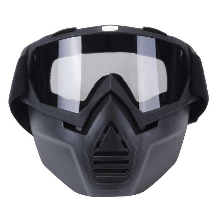 Motorcycle Motocross Face Mask Goggles Off Road Racing ATV Dirt Glasses Eyewear