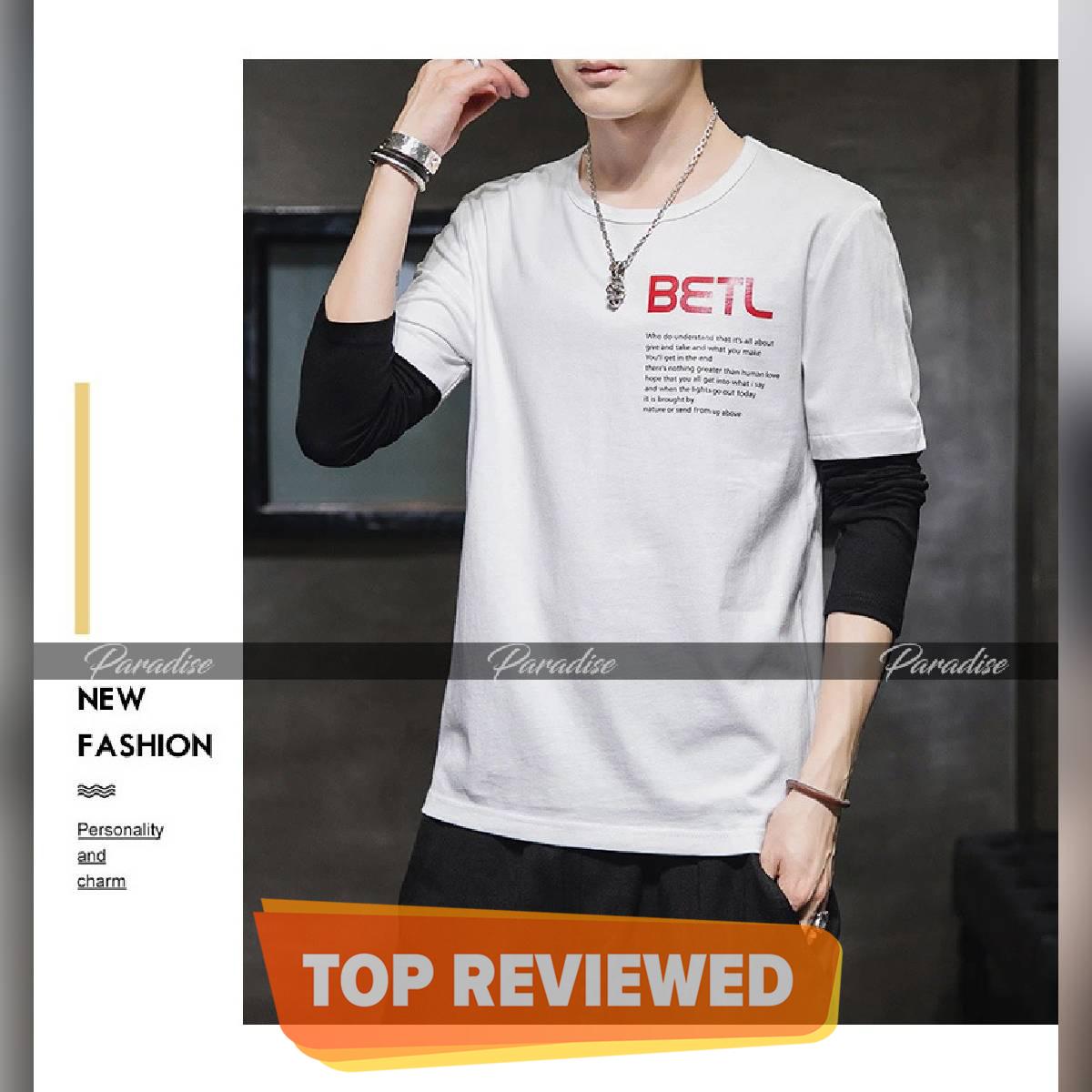New Long Sleeves Printed Tshirts For Men