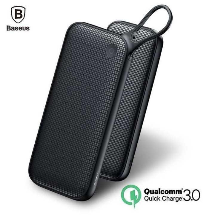 Baseus powerful Type-C PD+QC3.0 Quick Charge Power Bank 20000mAh black