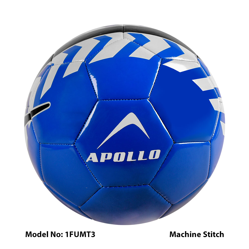 APOLLO FOOTBALL SOCCER MATCH BALL HAND STITCH AND MACHINE STITCH BALL FOR FOOTBALL TRAINING AND PRACTICE