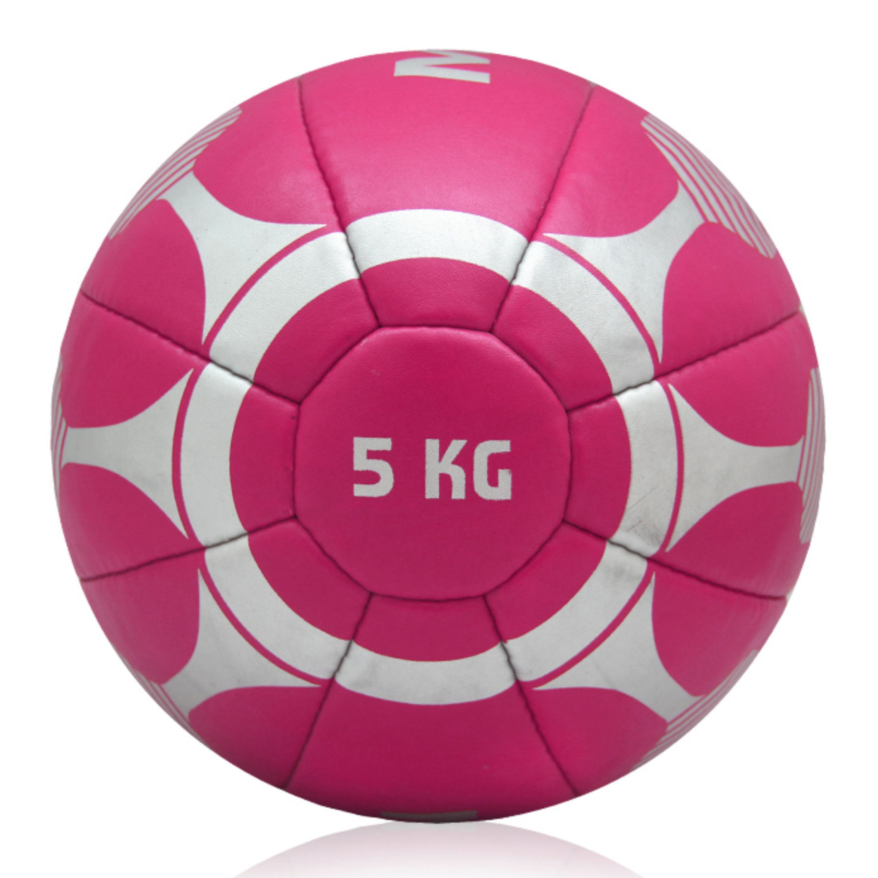 Medicine Ball 5kg, Leather No-Slip Weighted Med Ball for Weight Training, Stability, Cross Training, Core Strength, Heavy Workout Ball, Slam Medicine Ball, Exercise Balance Training Ball for Strength and Cross fit Workout. Physiotherapy Ball for Physio
