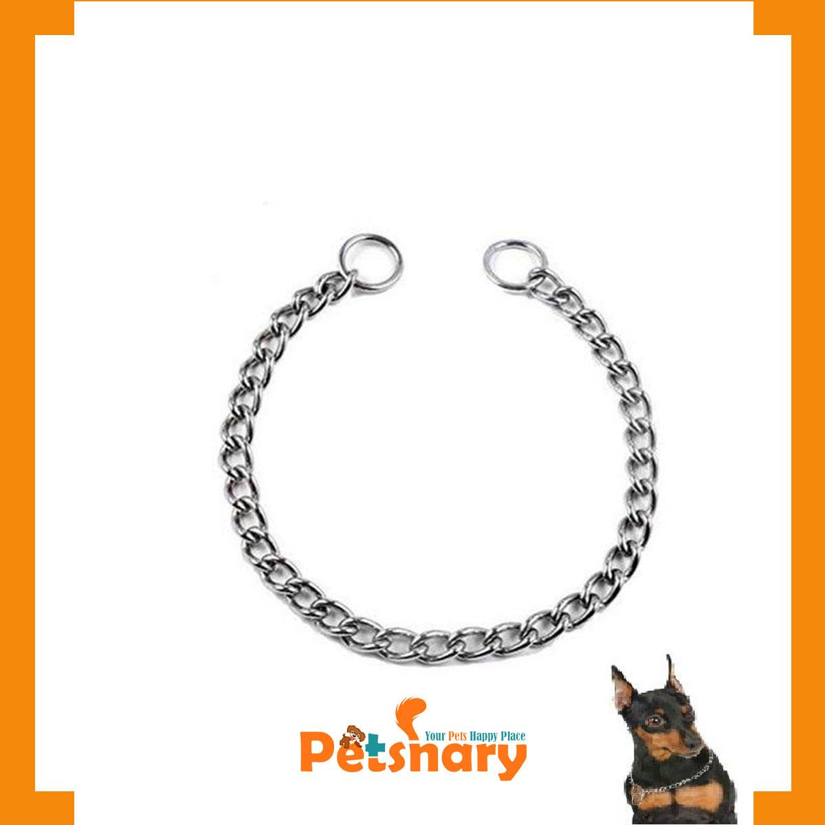 Chowk Chains for Puppies & Dogs / Steel