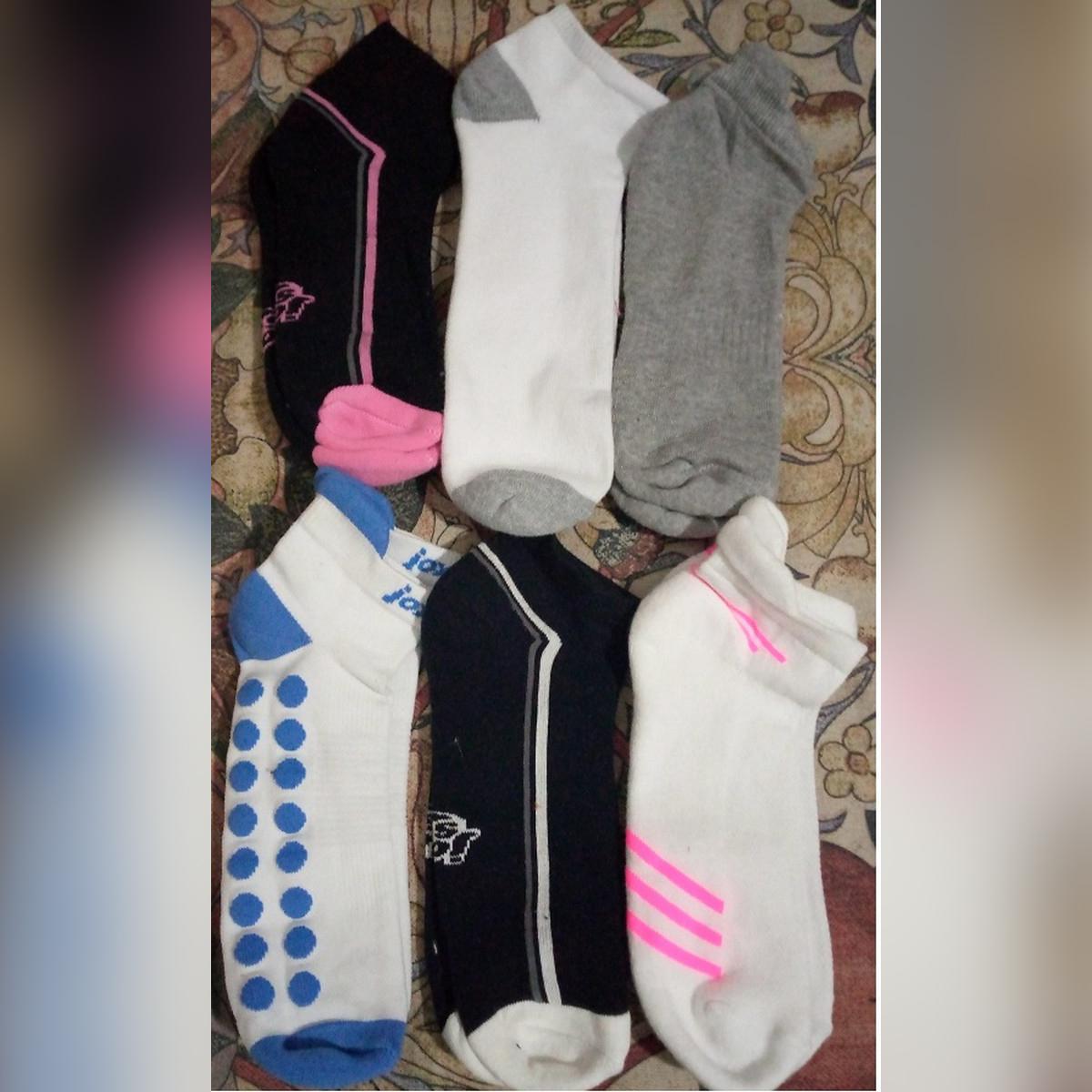 6 Pair Women's Socks Short Female Low Cut Ankle Socks For Women Ladies White Black Socks Short Chaussette Femme Summer