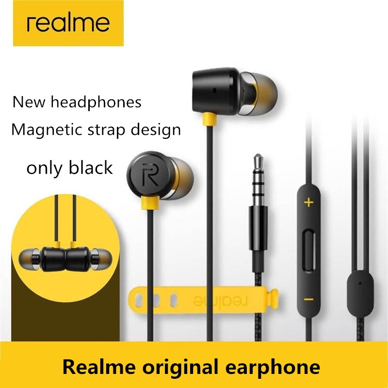 Realme_Hand free universal Earphones Best Universal Stereo for Android and PUBG Real Gamming Watching Movies - with Mic Super comfortable cute handfree for girls men-3.5mm jack