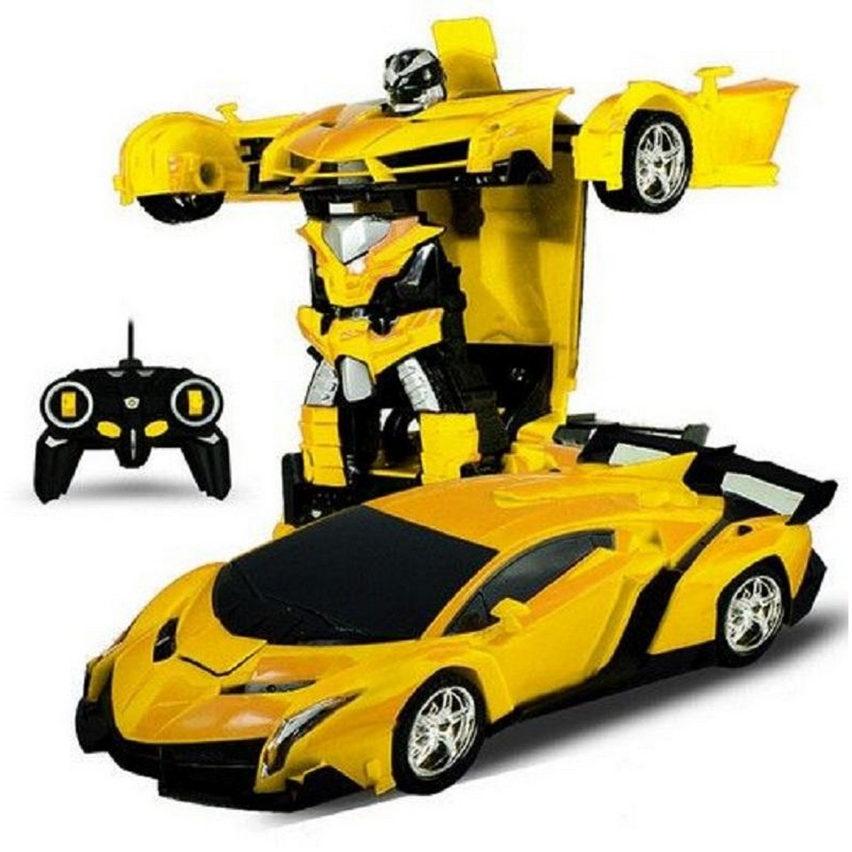Rc Transformer Car Chargeable Toy Remote Control