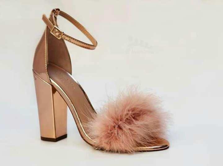 Splendid Furry block heel sandal for women