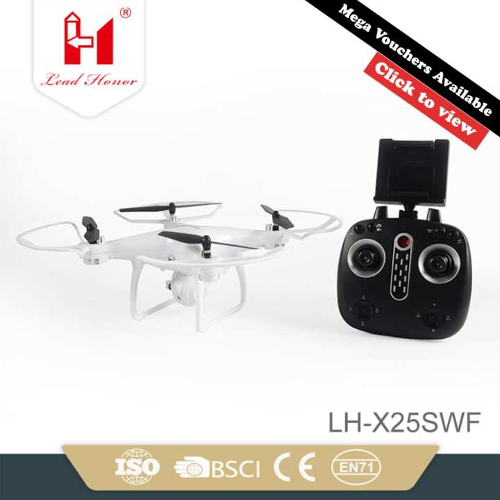 Lead Honor LH-X25S-WF720P Explorers 6-Axis Aerial Drone Full HD Camera Quadcopter WiFi
