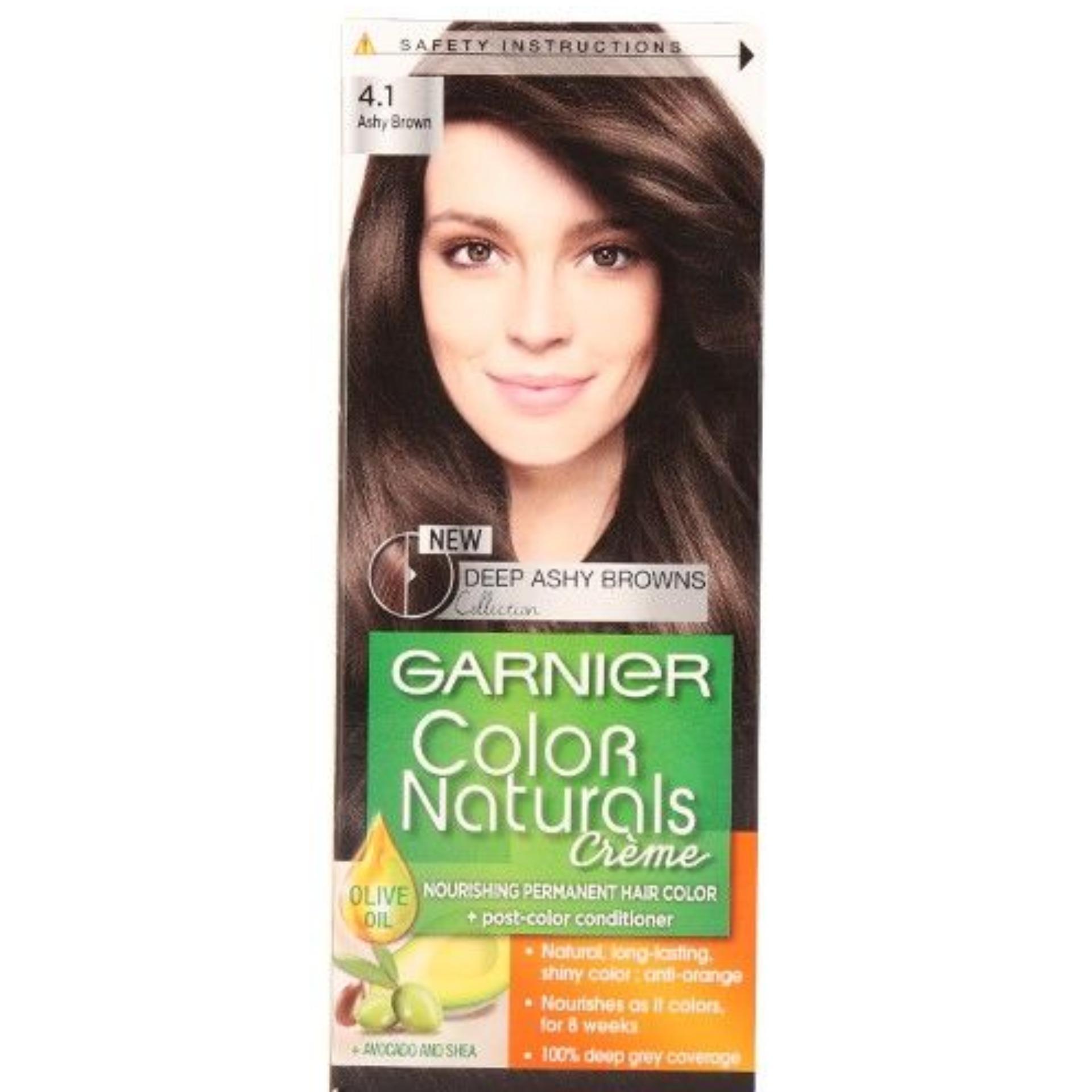 Garnier Color Naturals 4.1 Ashy Brown Hair Color