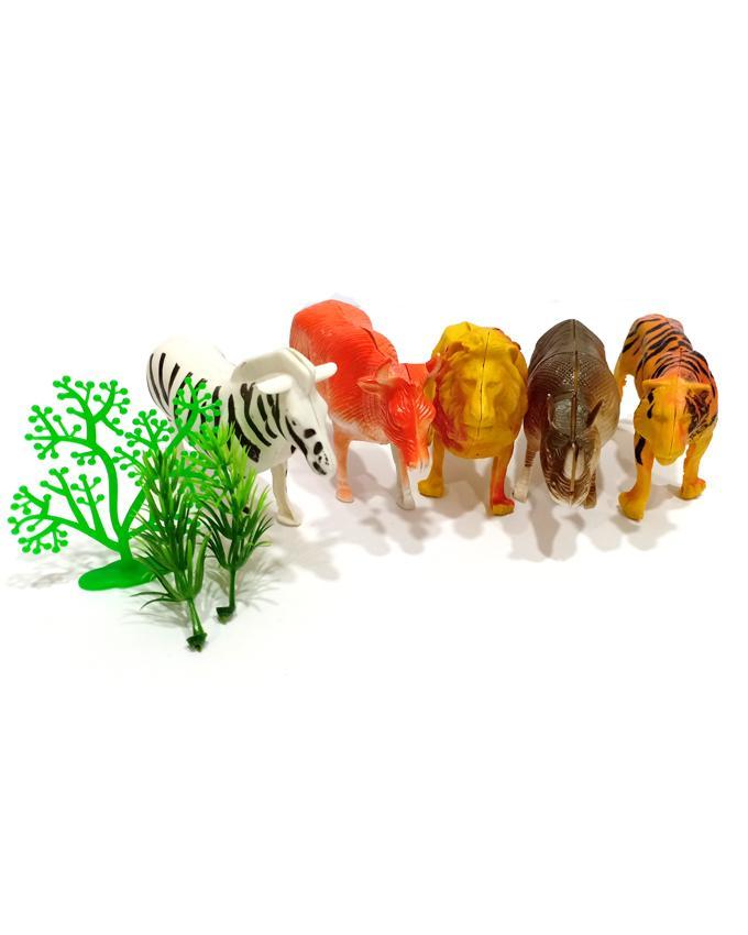 Fun Animal Toys 5 Pcs Set