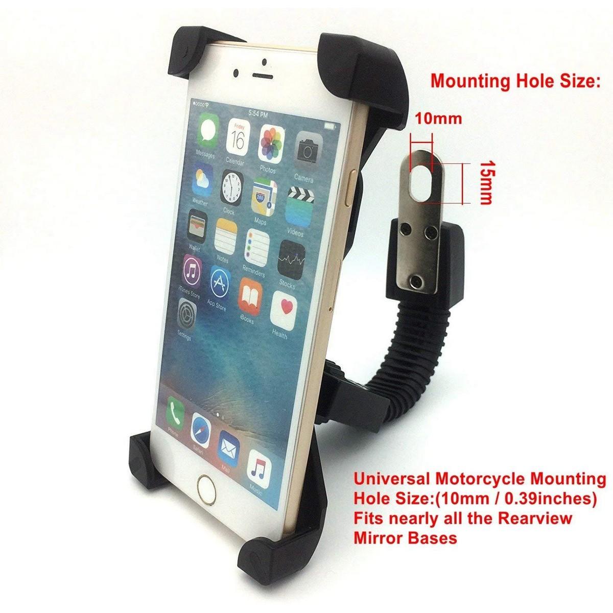 Universal Bike Bicycle Mtb Handlebar Mount Holder Stand For Mobile Phone Gps Pda