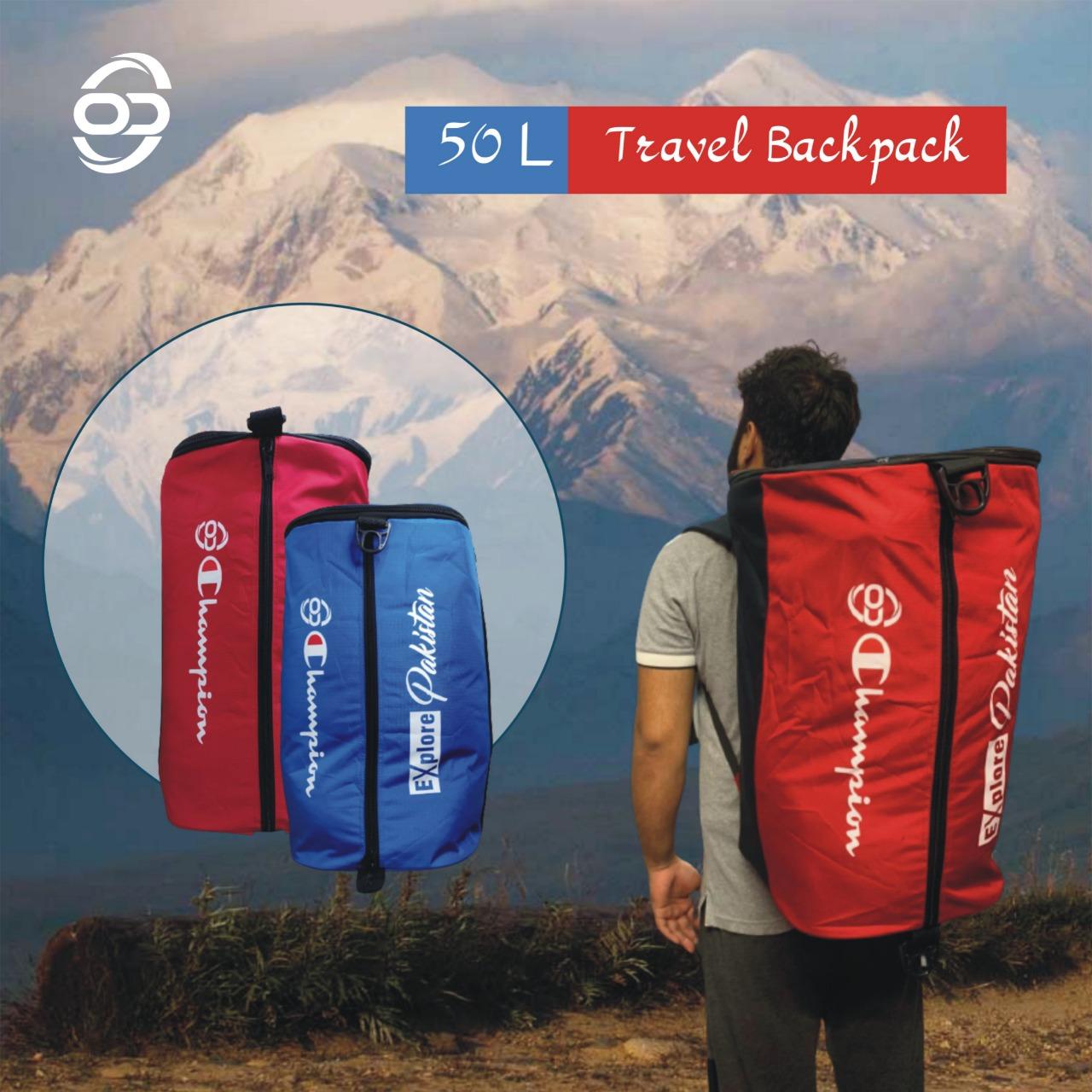 Online Dukandari 50-L Travel Backpack Hiking Backpack 50-L Men Travel Backpack 50 Liter Trekking Backpack Bag for men Hiking Backpack Gym Bag