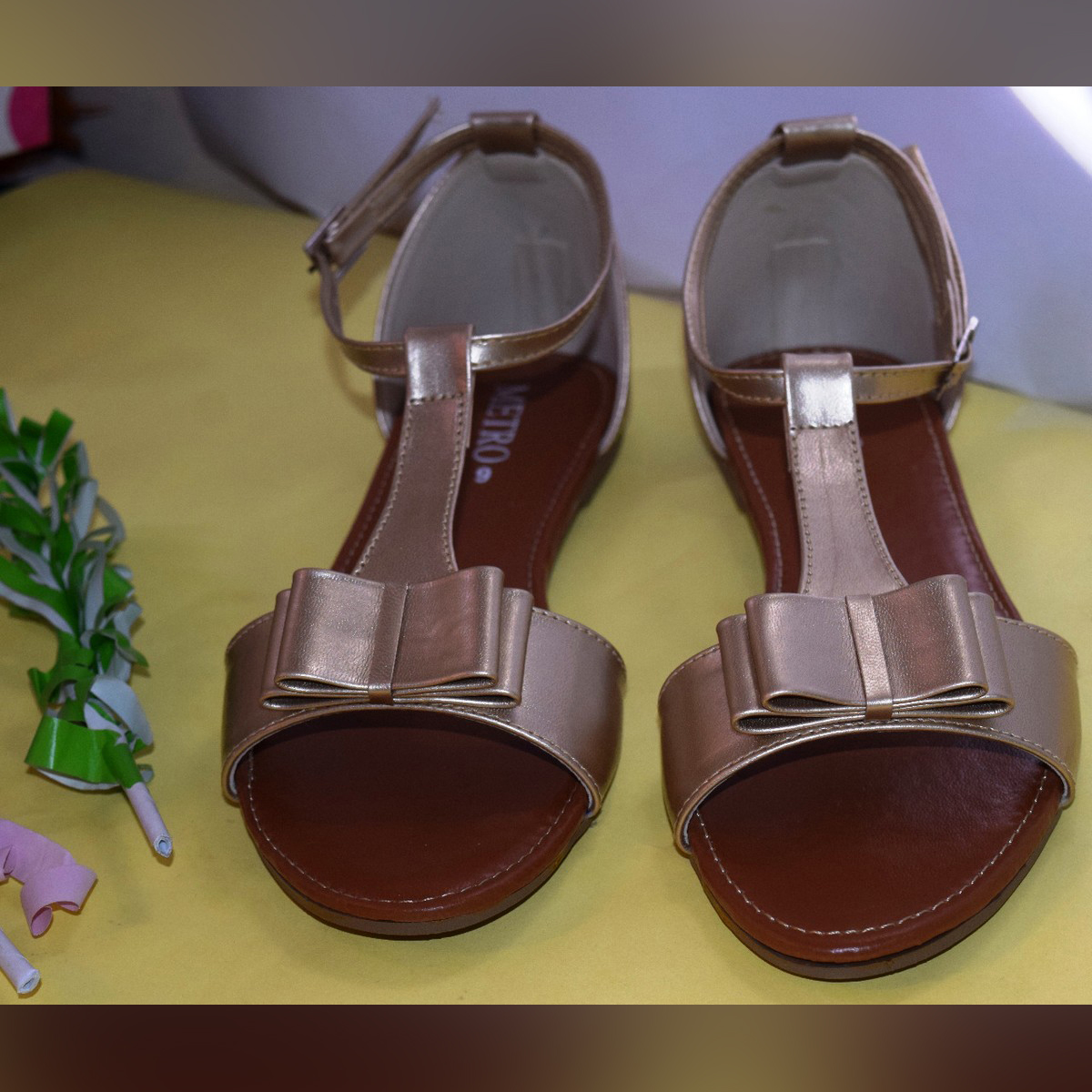 Beautiful Metro Ladies Flat Sandals Collection - American Shoes