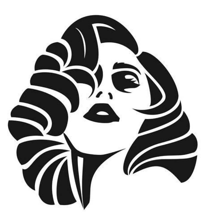 """Lady Gaga Decal Sticker - Peel and Stick Sticker Graphic - - Auto, Wall, Laptop, Cell, Truck Sticker for Windows, Cars, Trucks Size Tall 6"""" approx"""