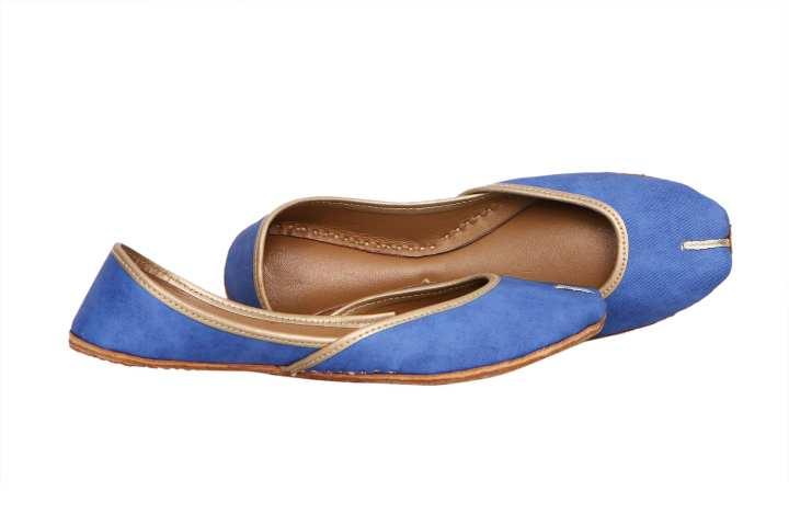 Blue  khussa for her