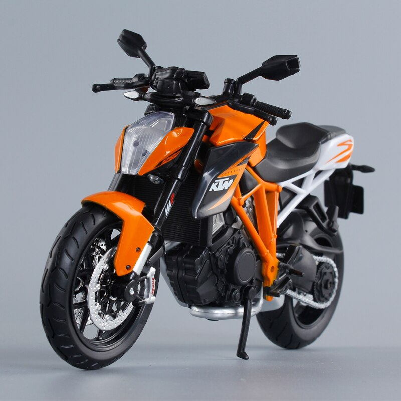 Diecast Metal Motor Bike Toy For Kids