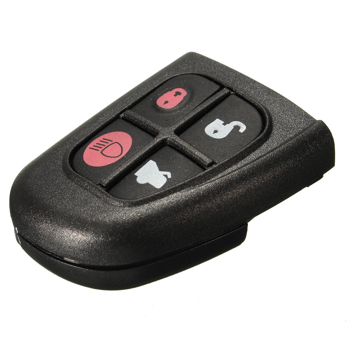 4 Buttons Remote Key FOB With Circuit Board Repair For Jaguar XJ XJR X S  Type