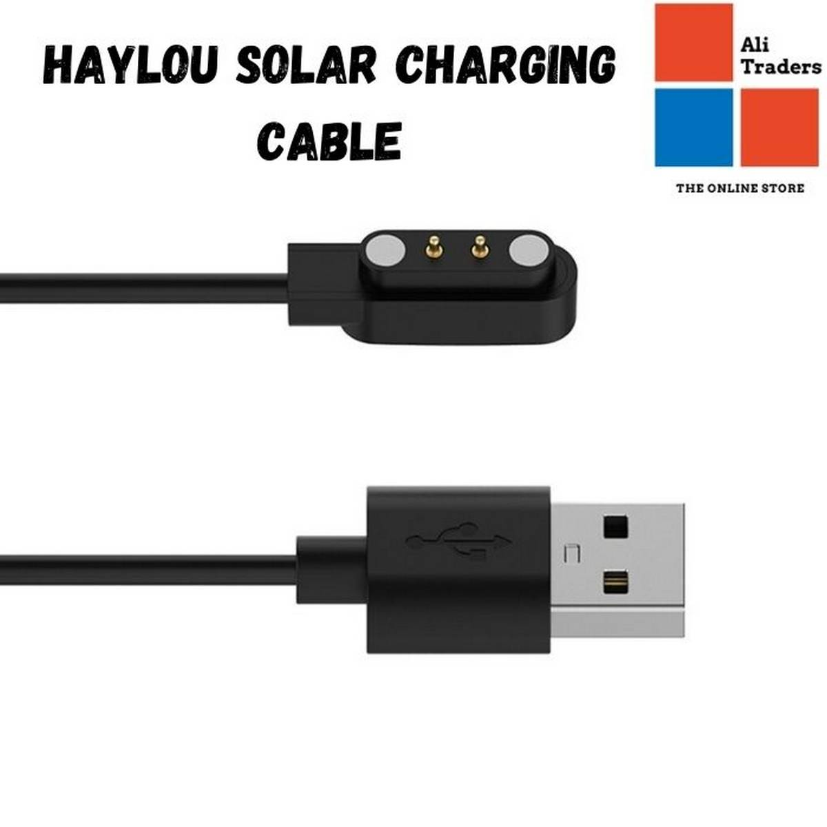 Replacement Magnetic Cable Smartwatch Dock Charger Adapter for Xiaomi Haylou Solar LS05