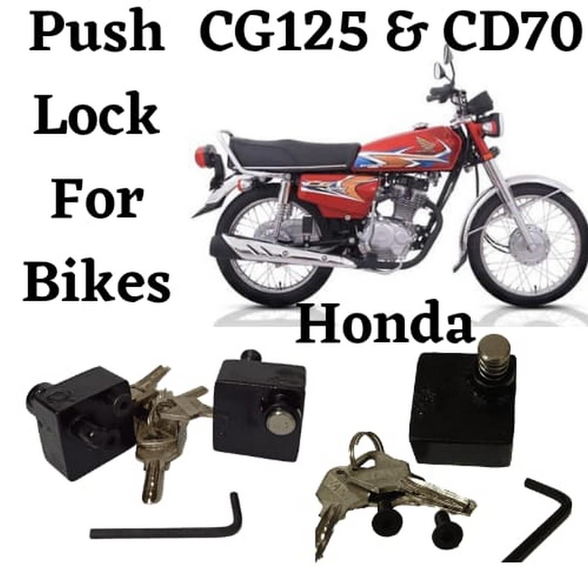 New Bike Lock As Puch Lock