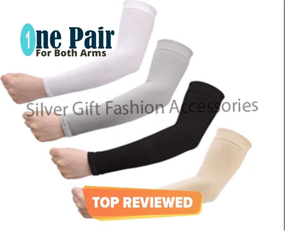 Arm Sleeves For Men  Sun,UV Protection Cooling Sun Sleeves for Men's and Women's
