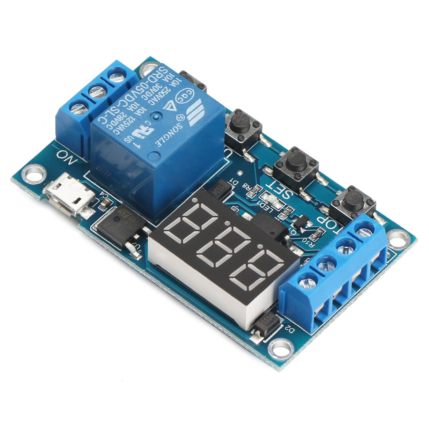 Timer circuit incubator egg turner Relay Module Switch Trigger Time Circuit Timer Cycle Adjustable