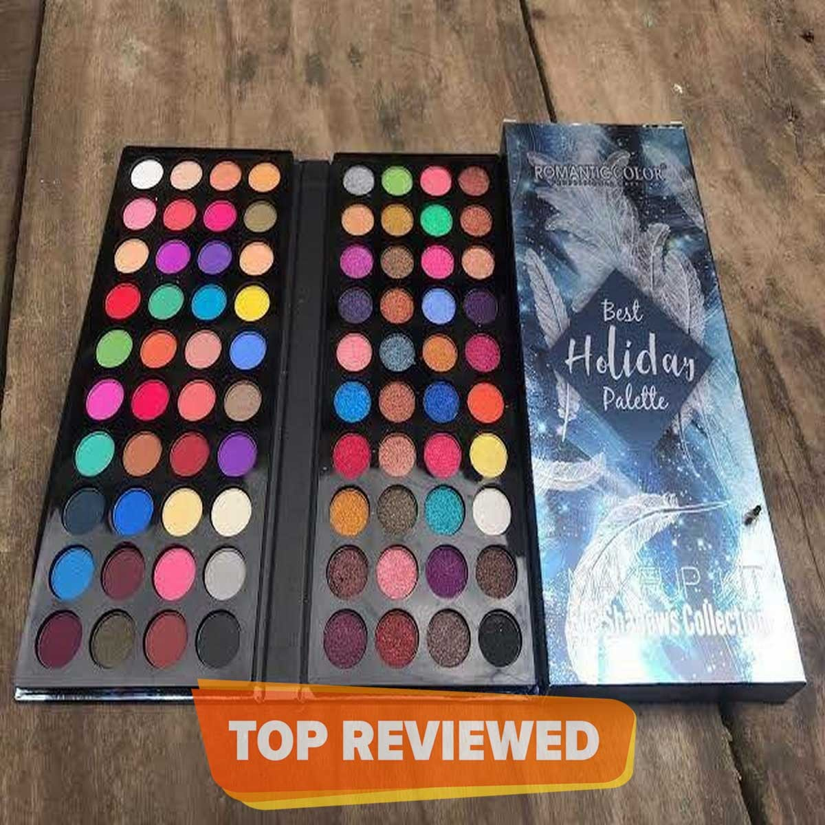 Romantic Color Eyeshadow pallete 2in1