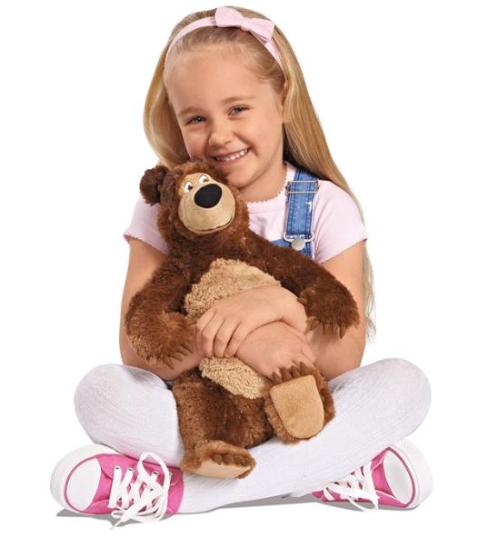 Masha Bear Plush Stuffed Soft Toy, 50 cm
