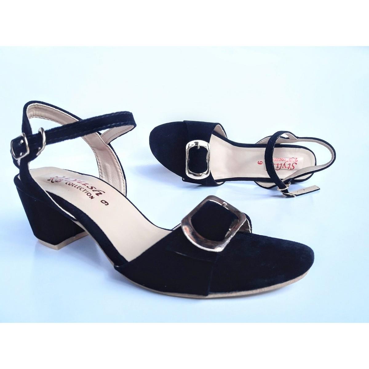 Stylish block heel sandals for women