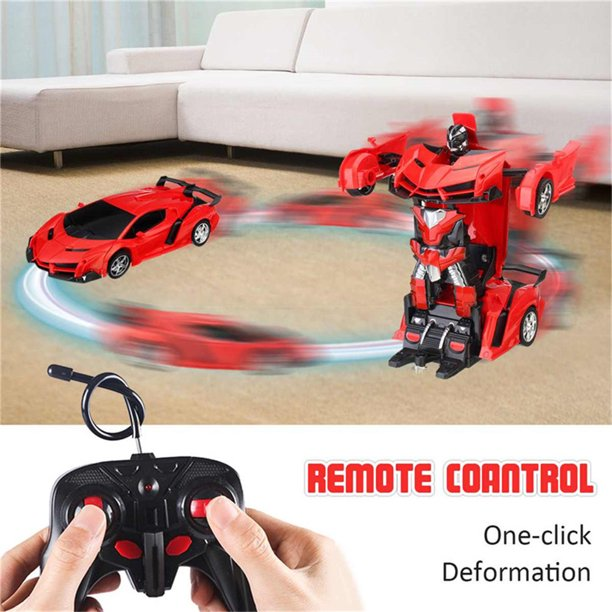 Deformation RC Robot Car wireless controller toy | Rechargeable with charger
