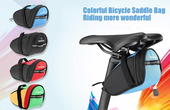 Type: Saddle Bag, Bicycle Bag Brand Name: Roswheel Model Number: 13567. For: Unisex Material: Polyester Suitable for : Road Bike, Bike, ...
