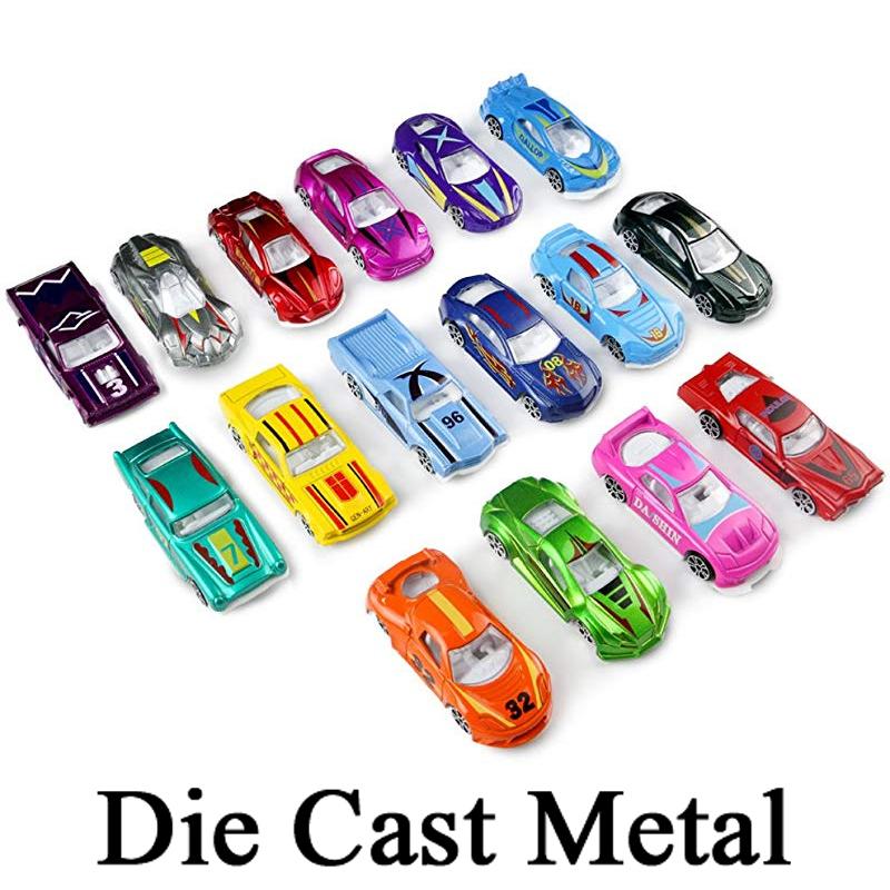 Die Cast Metal Action Racing Car Set Toys - Kids & Boys Toys Diecast Car