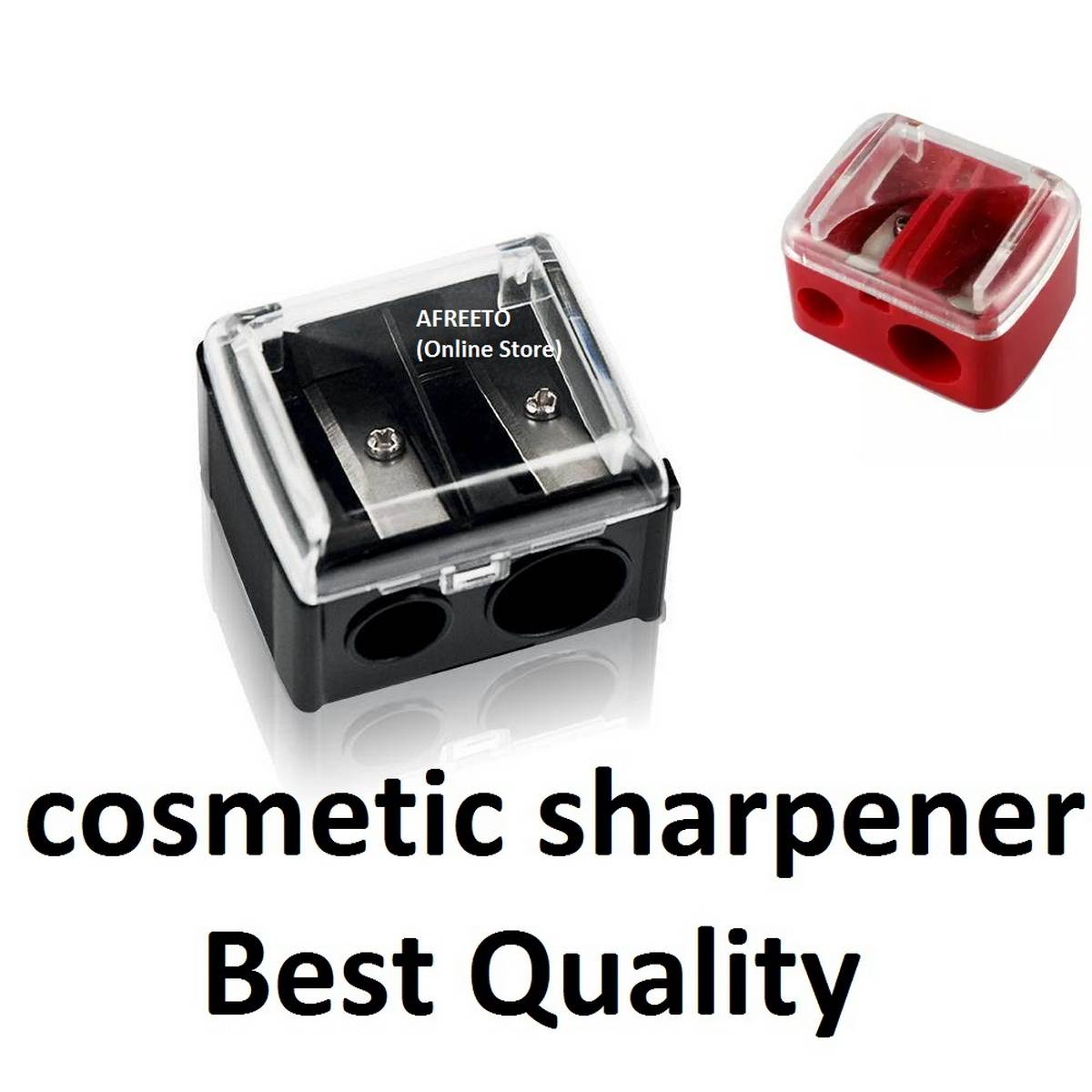 Cosmetic Sharpener kajal & eyeliner  pencil sharpner Jumbo Pencil & Thick Pencil Sharpener