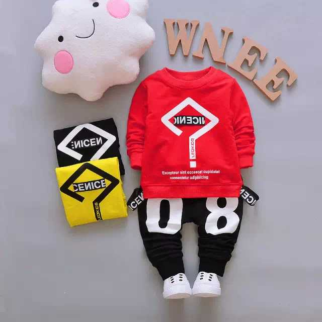 Sweatshirt And Pajama / Trouser For Kids Baby Boys And Baby Girls Imported Comfy Winter Warm Tops Clothes Sets Dresses Outfit