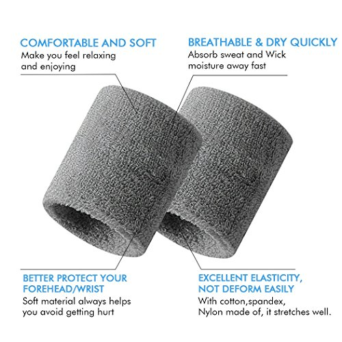 High Quality Sweat Band for Arms Sports Swoosh Headbands Sweat Band for men women Sports Headband Men Women Running Yoga Pilates Basketball GYM Hair Bands Cotton Sweat Stretch Turban Elasticity Headbands