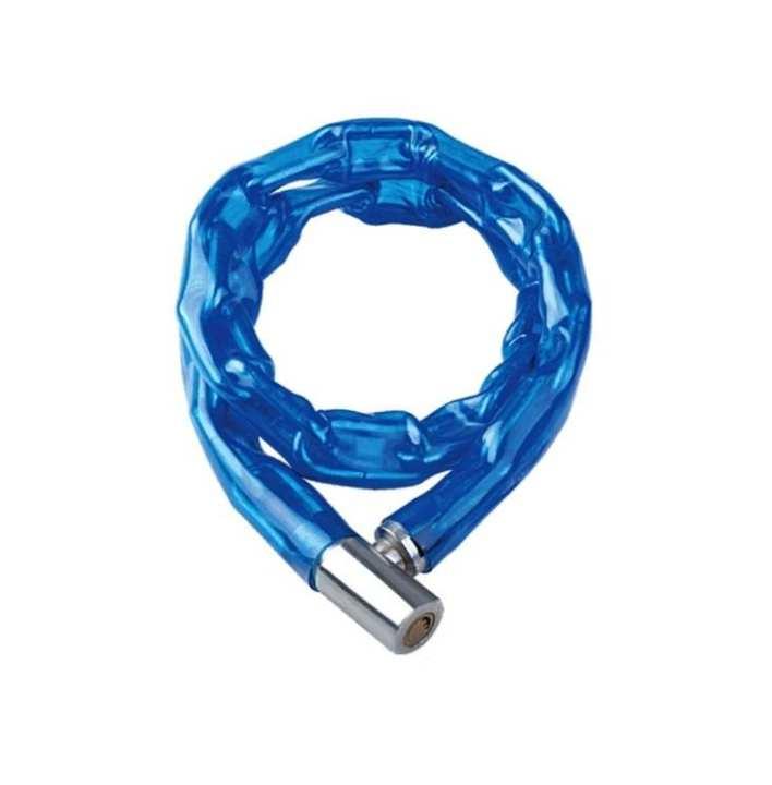 Bike Solid Chain Wheel Lock - Blue Color